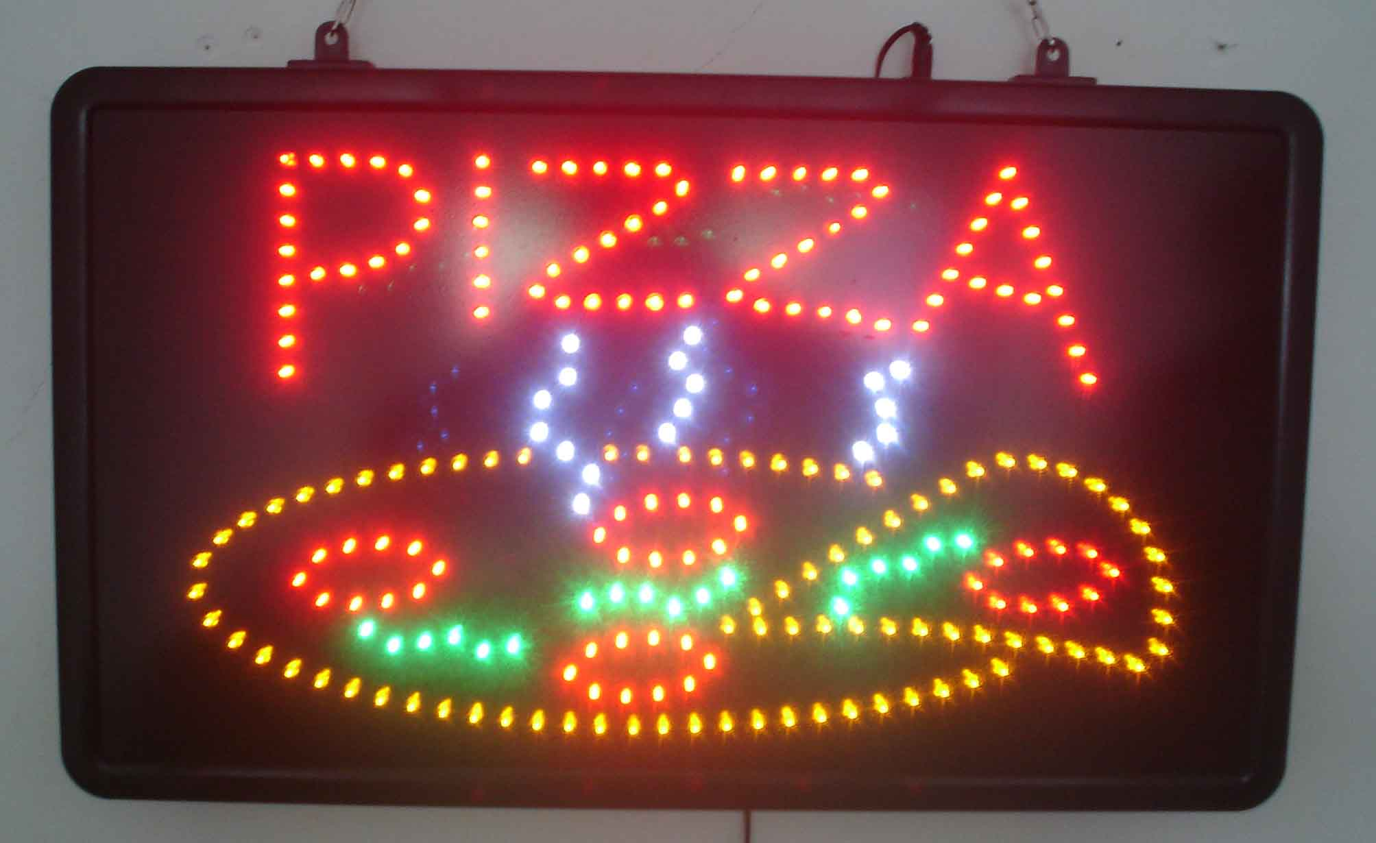 LED Pizza Sign