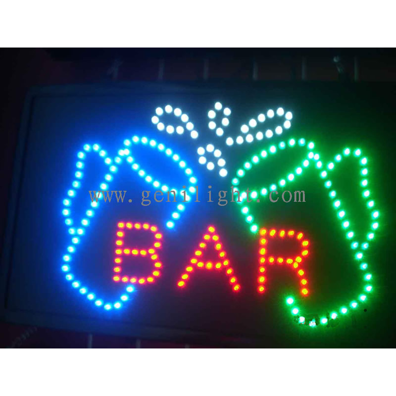 LED Bar Sign
