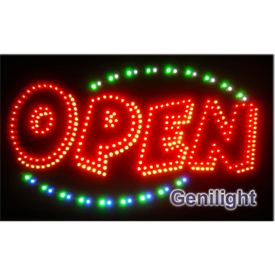 Open Animations LED Sign