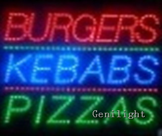 LED Food Sign